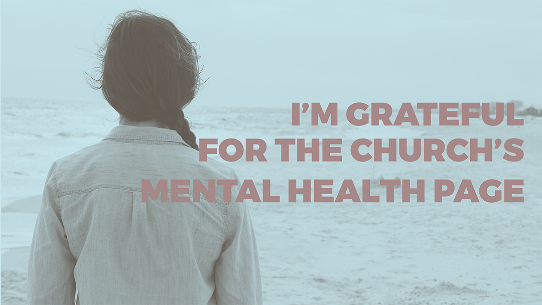 I'm Grateful for the Mental Health Page