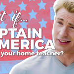 What if Captain America Was Your Home Teacher?