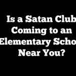 Satan Club is Trying to Get into After School Programs at Elementary Schools, Including One in Utah