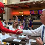The Crazy Story Behind the Viral Spiderman Photo with President Uchtdorf
