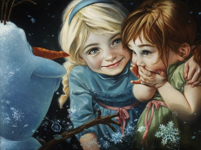 LDS Artist Commissioned by Disney, Creates Incredibly Realistic Artwork of Disney Characters