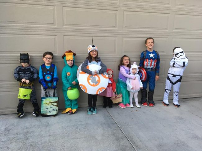 huntinghouse kids family halloween