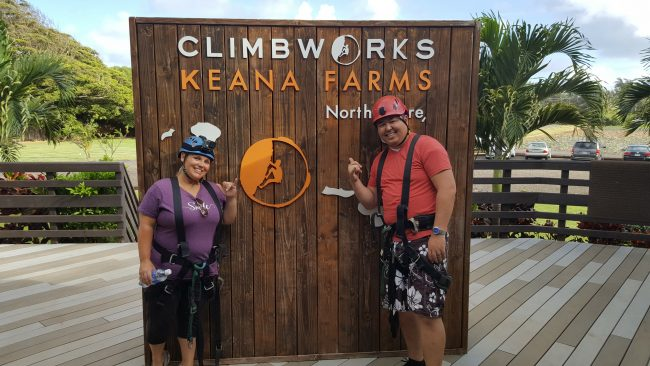 climbworks keana Farms laie hawaii