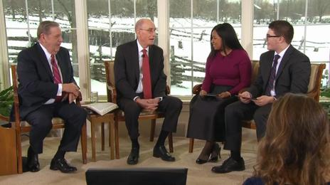 What President Eyring Said During the Face to Face That Will Give You Hope