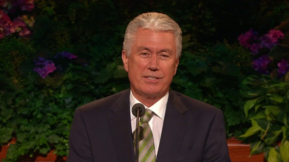 Have You Ever Noticed That Pres. Uchtdorf Changes His Tie During Conference? Ever Wonder Why?