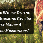 mormon dating advice