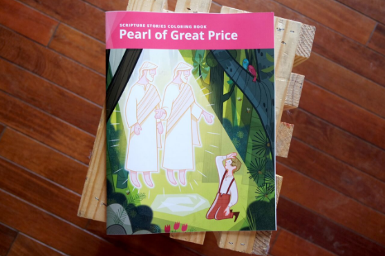 Pearl of Great Price Coloring Book