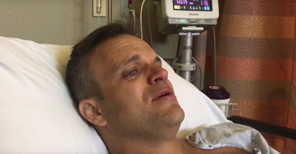 Man cries at thought of going to Cub Scout pack meeting after surgery