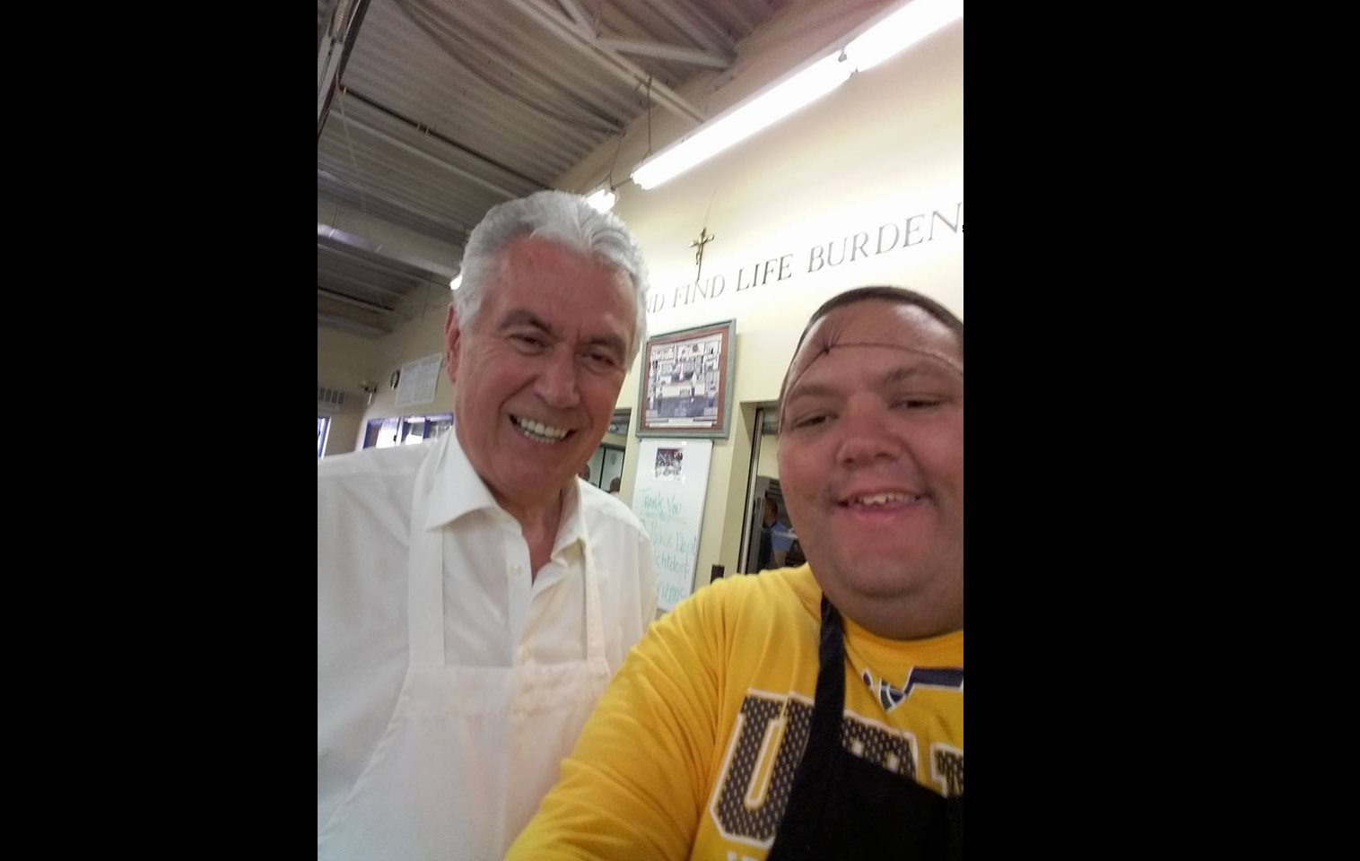 LDS Man Goes To Serve the Homeless…Unexpectedly Runs into President Uchtdorf.