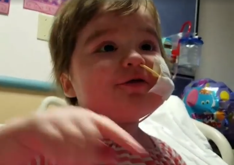 Toddler Still Singing After Two Bone Marrow Transplants