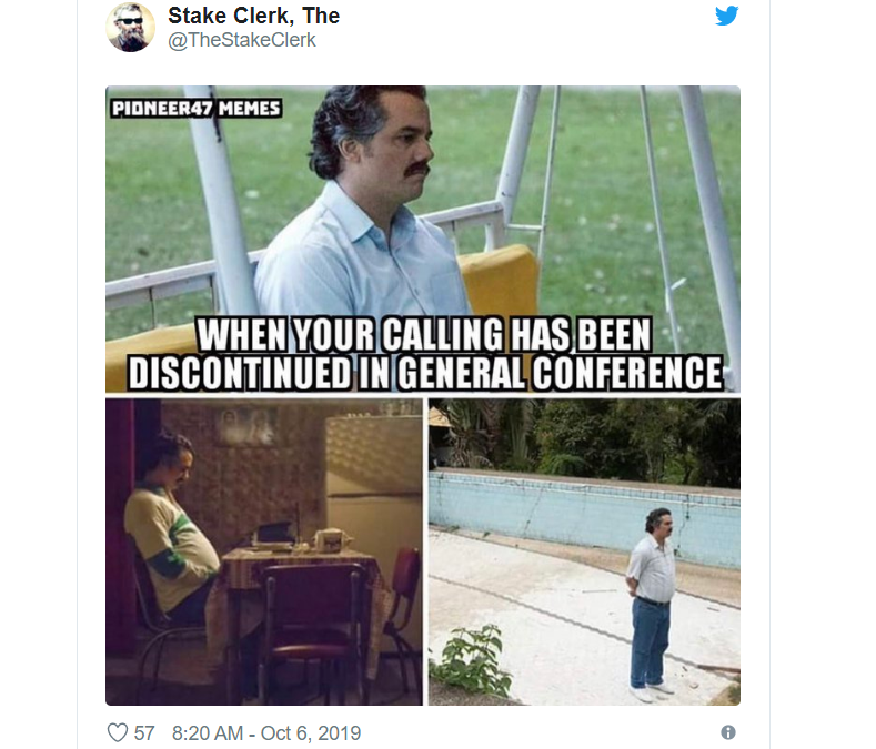 The Funniest Tweets from General Conference – Oct 2019